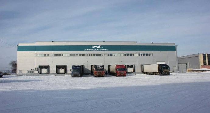 Nuevo hub logístico de Marcotran ubicado en el suroeste de Rusia