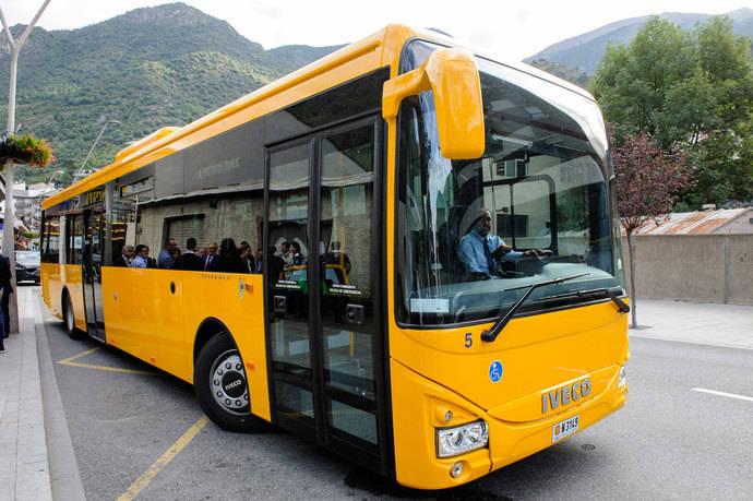 Julià consolida presencia en Andorra con primer servicio transporte interurbano