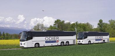 Alsa integra al transportista de Ginebra Odier Excursions