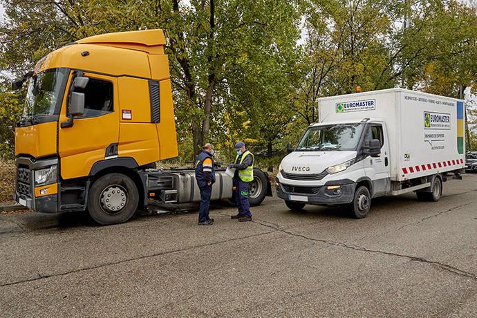 Euromaster: asistencia en carretera a camiones y semirremolques