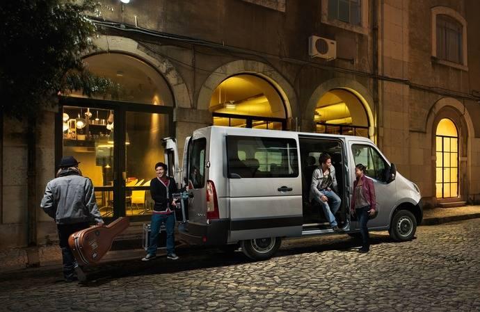 De transporte de pasajeros a volquete, hay un Opel Movano para cualquier tarea