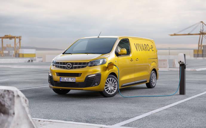 El exitoso vehículo comercial Opel Vivaro-e llegará en 2020