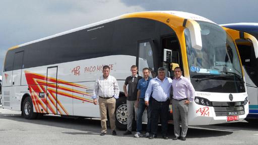 Autocares Paco Monge confía en el SC7 de Sunsundegui