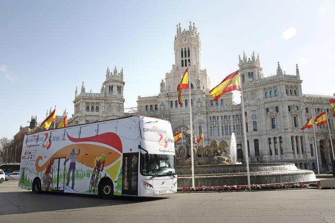 Convenio de colaboración entre Alsa y el Comité Paralímpico Español