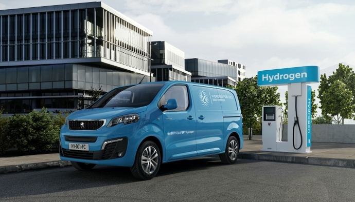 Nuevos modelos eléctricos Peugeot e-Expert Hydrogen