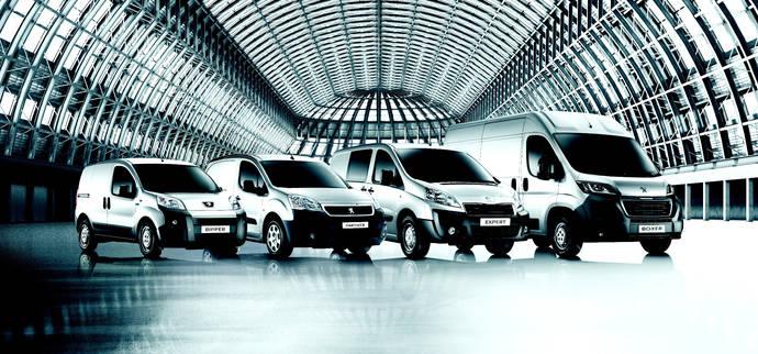 'Cuatro Días Peugeot Professional', para descubrir su gama comercial