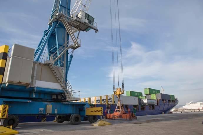 El tráfico portuario marca nuevos máximos históricos en el primer semestre del año