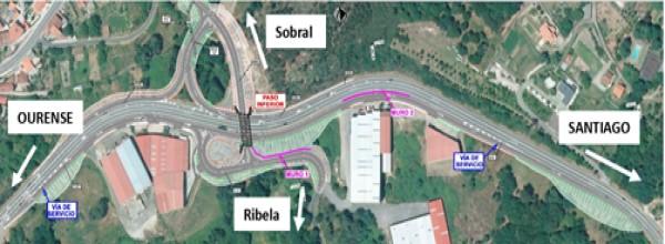 Mitma aprueba proyecto del enlace de Ribela en PK 244 de la carretera N-525