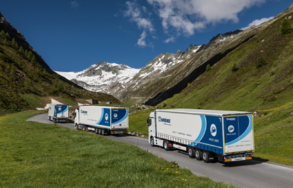Krone presenta vehículos prácticos y servicios