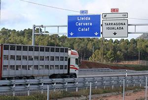 Los transportistas exigen que se garantice la libre circulación por las carreteras catalanas
