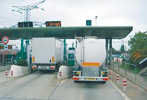 Las inmovilizaciones por el peaje son declaradas ilegales por la justicia belga