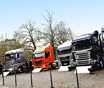 Los vehículos industriales y autobuses registran una subida del 5,6% en ventas en noviembre