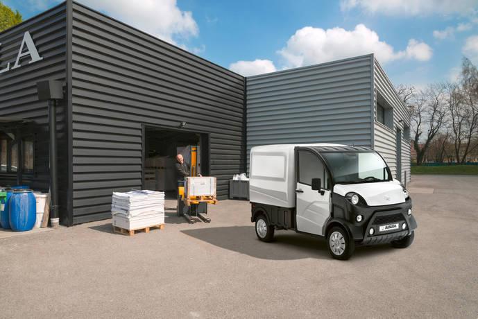 Aixam lanza un e-Truck 100 % eléctrico para usar sin carné