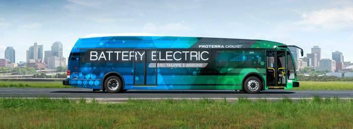 Un autobús eléctrico logra cubrir casi 1.000 km con una sola carga