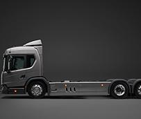 Scania presentará en la IAA un camión eléctrico híbrido enchufable de su nueva generación