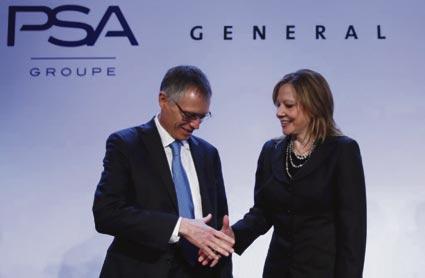 El grupo PSA Peugeot Citroën adquiere Opel/Vauxhall