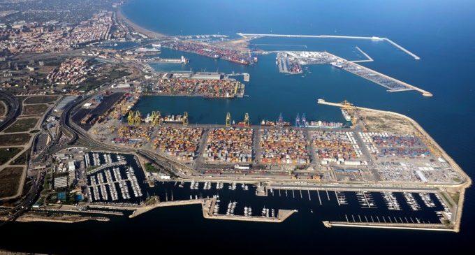 Valenciaport crece un 8,13% en tráfico de contenedores, en el primer trimestre