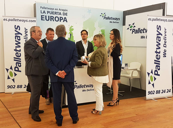 Palletways Iberia muestra claves de la internacionalización, en Arex 2018