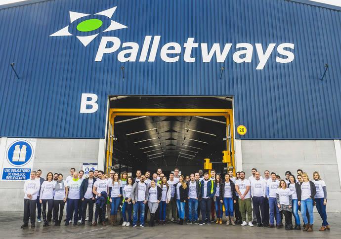 Palletways ha renovado su compromiso con El Motor de Tus Pasos