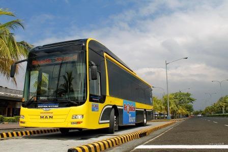 Transporte público más moderno para Manila