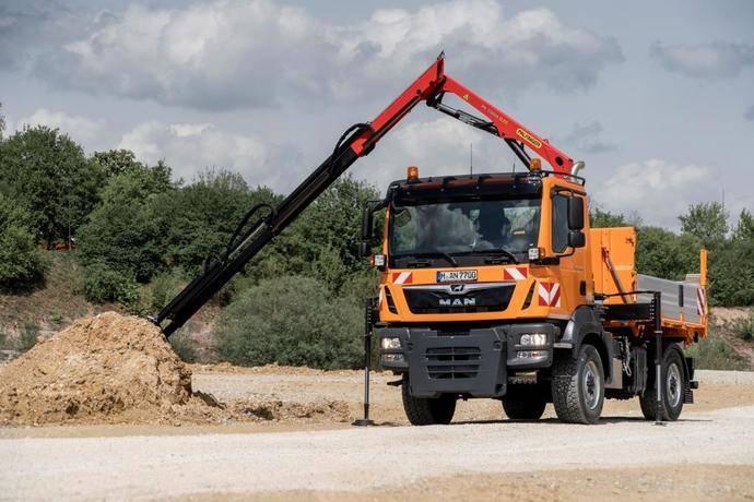 Flexibles, rentables y ecológicos vehículos MAN acuden a Ifat 2018