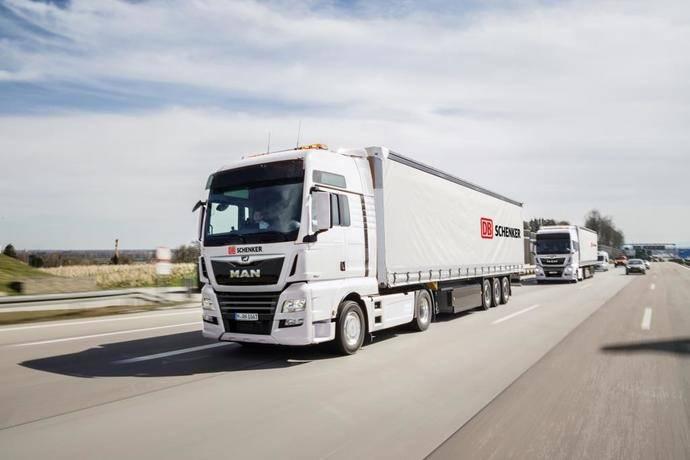 DB Schenker y MAN intensifican su asociación para la conducción autónoma