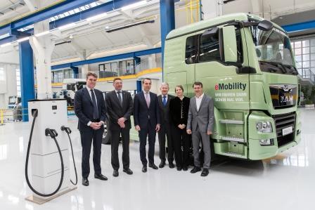 Colaboración con el CNL: MAN presenta su camión eléctrico