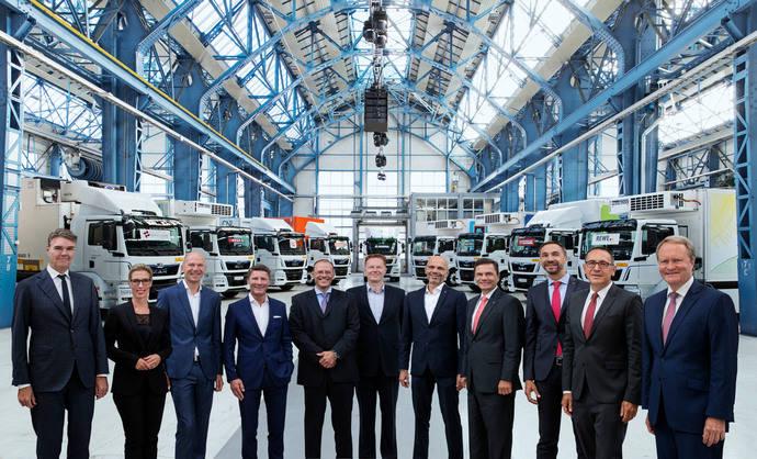 Camiones eléctricos en circulación, MAN y el CNL empiezan pruebas prácticas
