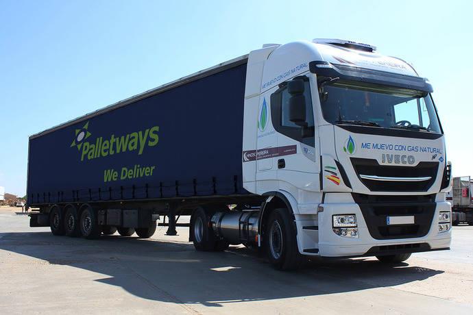 Palletways añade la tecnología GLP para rutas con Sevilla y Extremadura