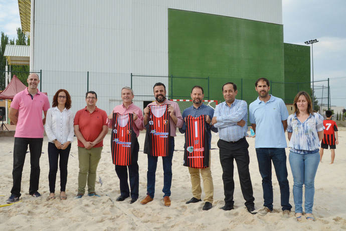 Palletways Iberia, patrocinador del Balonmano Playa de Azuqueca de Henares