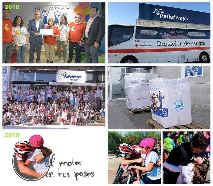 Palletways Iberia continúa con su Plan de Responsabilidad Social Empresarial