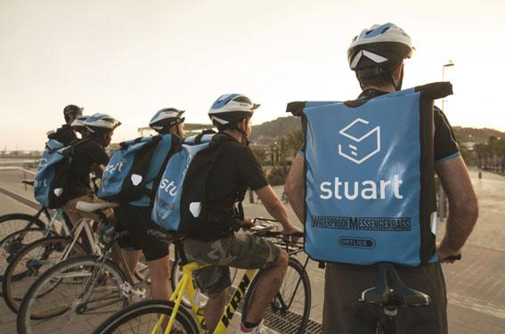 EL 70% de los envíos de Stuart son libres de emisiones