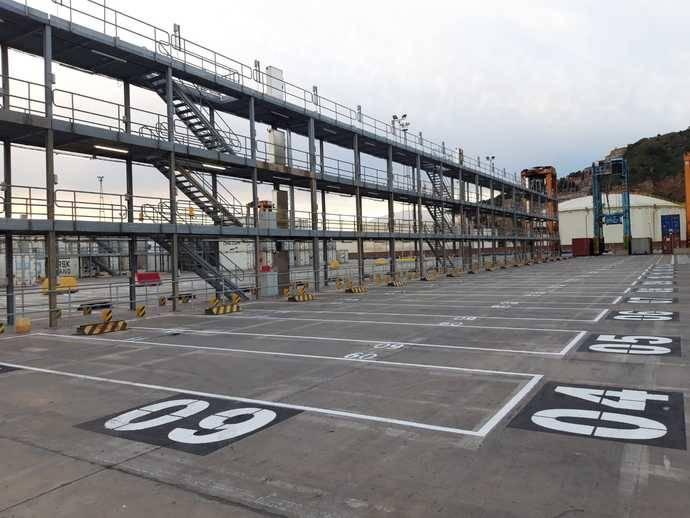 APM Terminals Barcelona, 31% más de contenedores frigoríficos