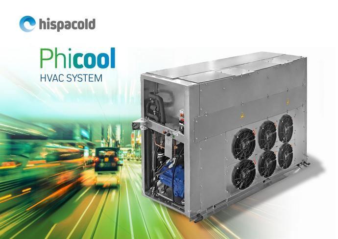 Climatización Hispacold para el Enviro500 EV Charge
