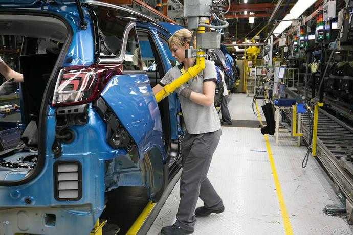 La planta de PSA en Aragón, un 6% más de producción