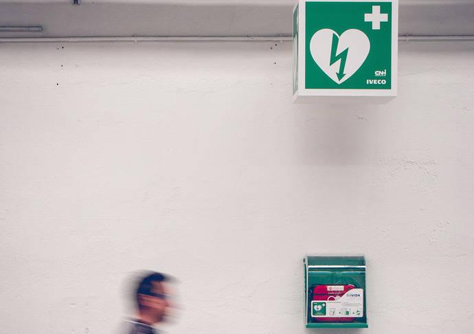 Iveco hace de su planta en Valladolid una zona cardioprotegida