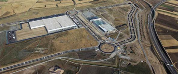 P3 construirá para Airbus un parque logístico en la región de Madrid