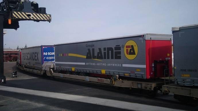 Nuevos servicios de autopistas ferroviarias con salida en Mâcon