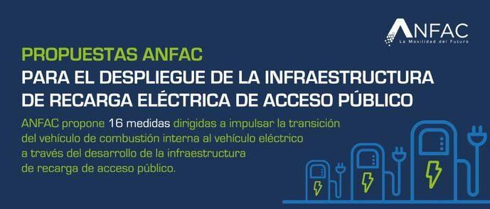 16 medidas para impulsar infraestructuras de recarga eléctrica de acceso público