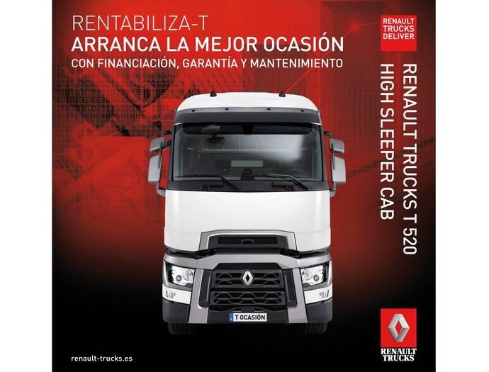 Promoción especial de la gama T de Renault Trucks