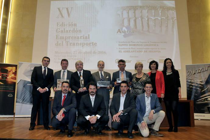 Asetra celebra la 15 edición del Galardón Empresarial del Transporte