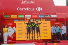Dachser, 10 años como Logística Oficial de La Vuelta