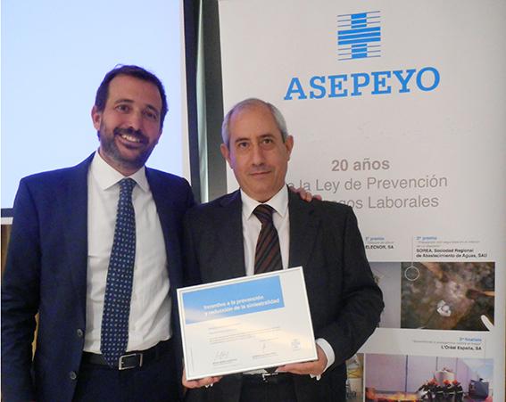 Azkar Dachser es premiada por su eficiente gestión en la prevención de riesgos laborales