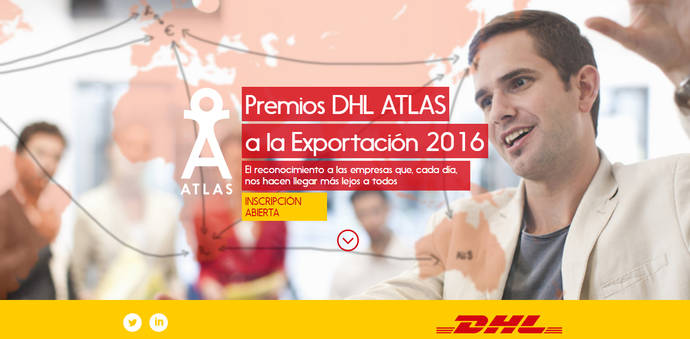 Premios Atlas a la Exportación 2016 de DHL, abierto tiempo de candidaturas