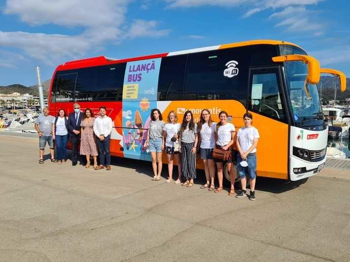 Arranca el Llançà Bus, nuevo servicio de Moventis y el municipio de Llançà