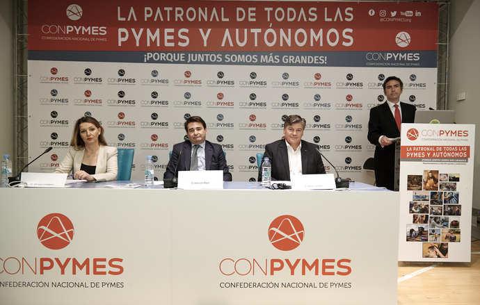 La nueva patronal Conpymes ve insuficiente la prórroga de los ERTE