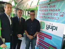 Yüpi, la app para pagar el transporte urbano en Alicante