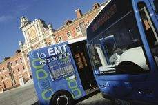 Un autobús de la EMT de Madrid.