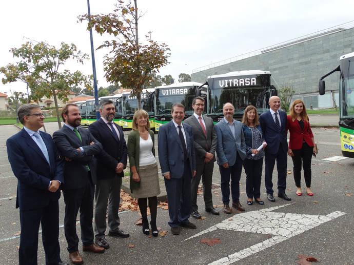 Vitrasa invierte cuatro millones de euros en 16 autobuses