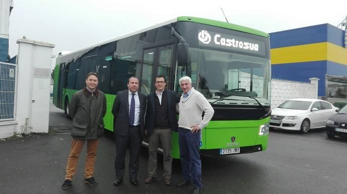 Grupo Castrosua entrega un New City a autocares Priego-Ramírez